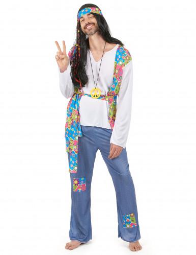 Disfraz hippie para hombre años 60
