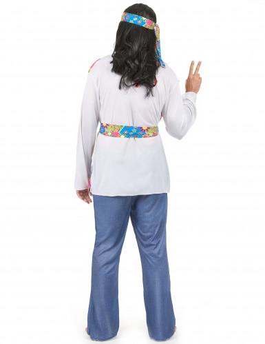 Disfraz hippie para hombre años 60-2