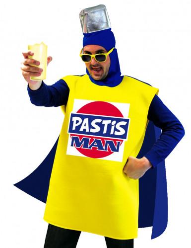 Disfraz pastis hombre