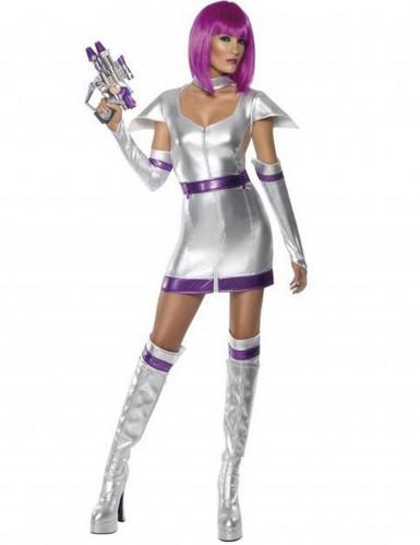 Disfraz soldado del espacio mujer