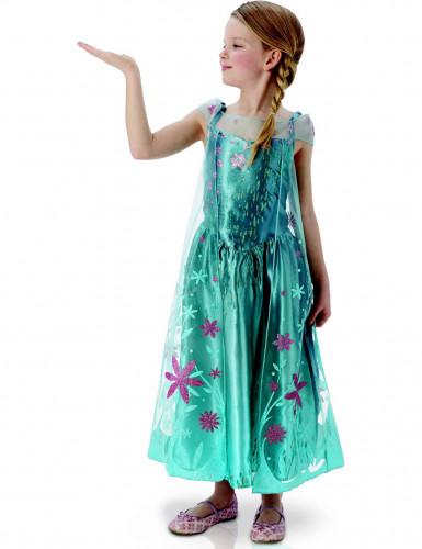 Disfraz de Elsa Frozen. Fiesta niña