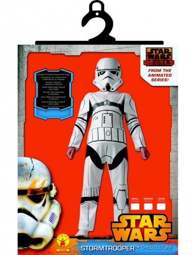 Disfraz clásico de Stormtrooper Star Wars Rebels™ niño-1