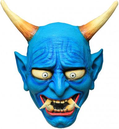 Máscara demonio Oni azul
