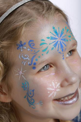 Plantilla maquillaje reutilizable Frozen-3