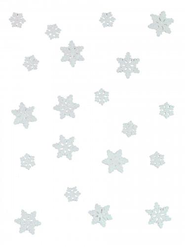 20 Confeti de mesa copos de nieve Frozen™-1