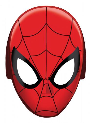 8 Máscaras cartón Spiderman™