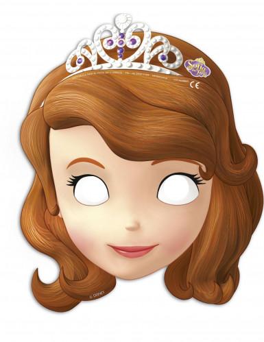 6 Máscaras de cartón Princesa Sofía™