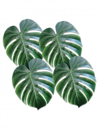 4 hojas de palmera de pl stico vede decoraci n y - Palmeras de plastico ...
