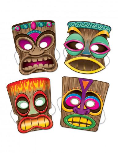 4 Máscaras Tiki