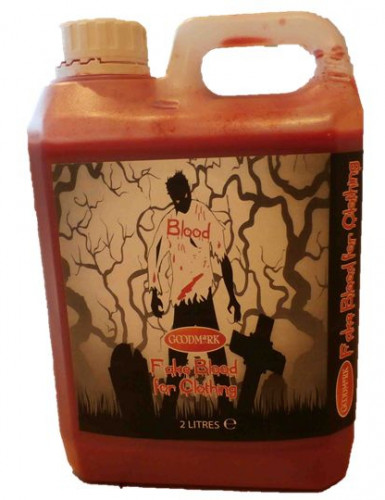 Sangre falsa para textil 2L Halloween