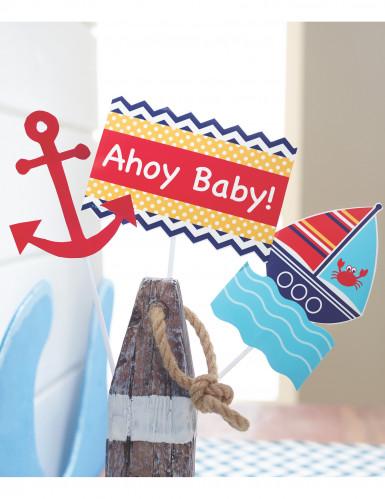 3 Palillos decorativos mi pequeño marinero-1