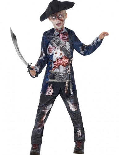 Disfraz Halloween zombie pirata niño