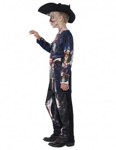 Disfraz Halloween zombie pirata niño-2