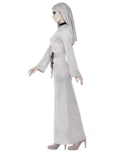 Disfraz fantasma religioso mujer Halloween-1