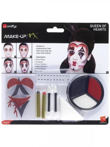 Kit maquillaje reina de corazones adulto-1