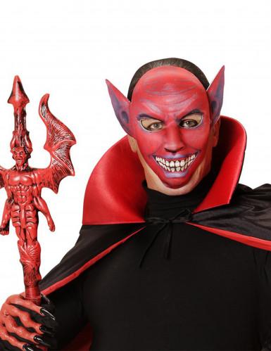 Máscara demonio rojo adulto Halloween