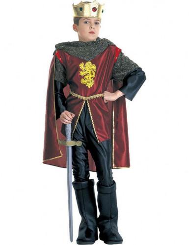 Disfraz rey caballero niño