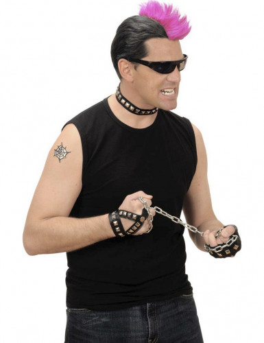 Kit joyas rockero punk adulto