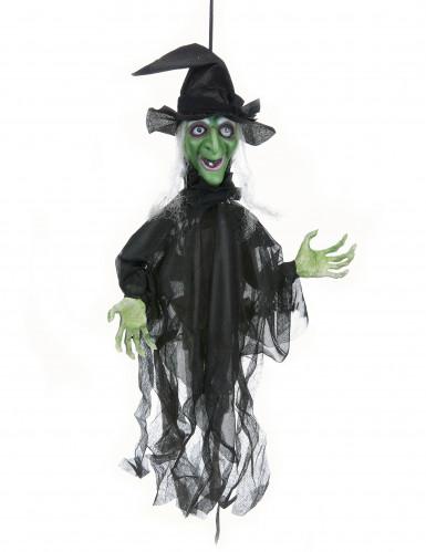 Decoración bruja animada Halloween