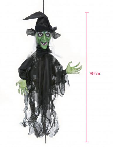 Decoración bruja animada Halloween-2