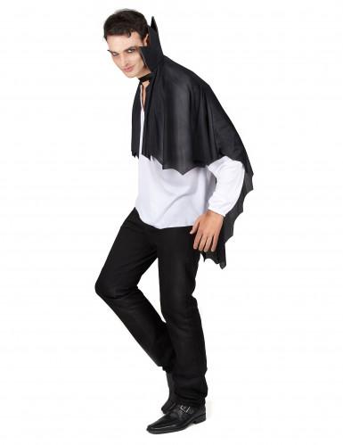 Capa vampiro negra con gorguera 100 cm Halloween-1