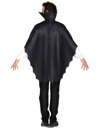 Capa vampiro negra con gorguera 100 cm Halloween-2