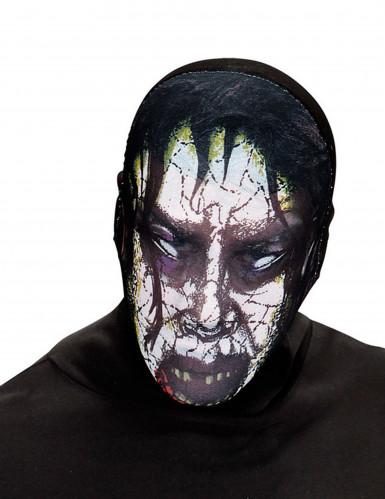 Máscara zombie poseído adulto Halloween
