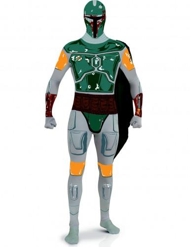 Disfraz adulto segunda piel Boba Fett- Star Wars™