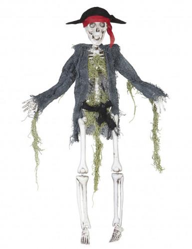 Decoración zombie pirata 42 cm Halloween