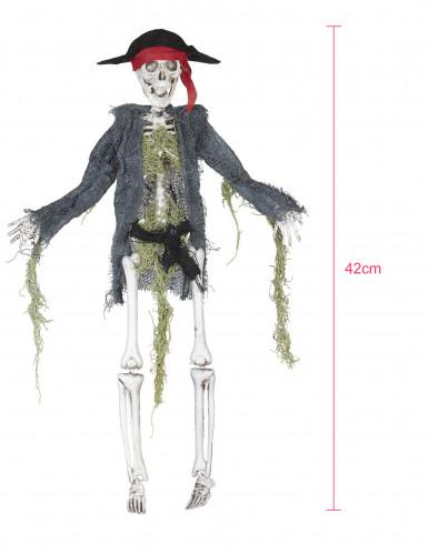 Decoración zombie pirata 42 cm Halloween-1