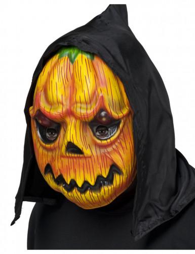Máscara calabaza capucha adulto Halloween