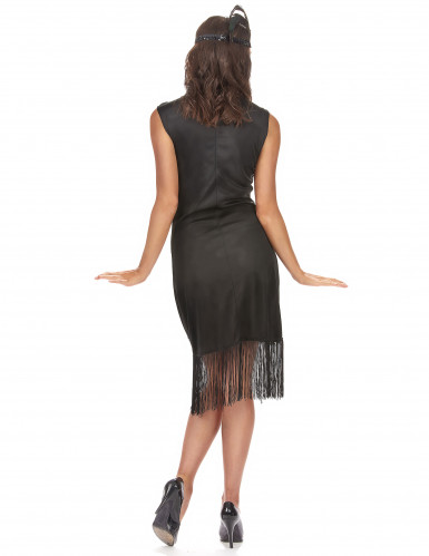 Disfraz vestido charlestón negro mujer-2