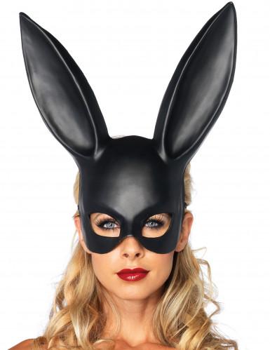 Máscara conejo negro
