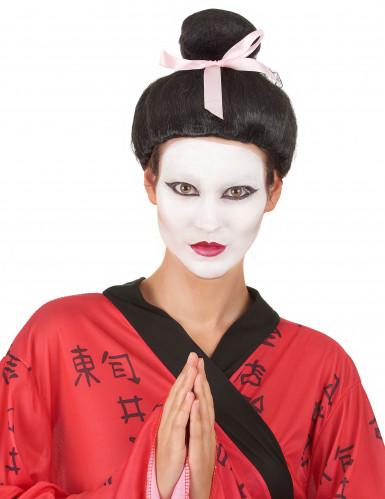 Peluca Geisha mujer