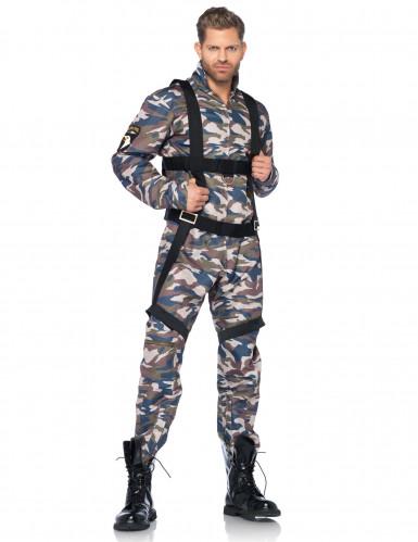 Disfraz militar soldado hombre