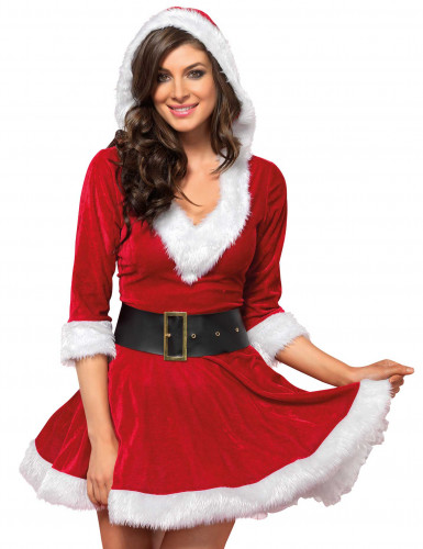 Disfraz Mamá Noel mujer-1