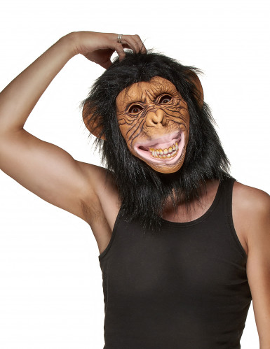 Máscara látex mono adulto