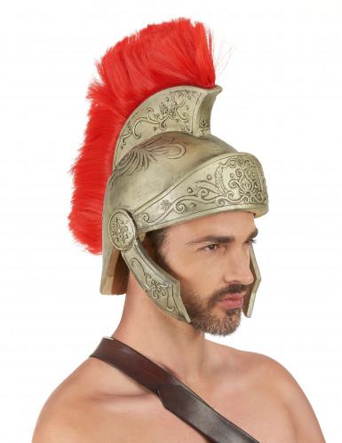 Casco látex guerrero romano adulto