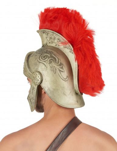 Casco látex guerrero romano adulto-1