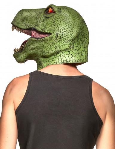 Máscara látex dinosaurio adulto-1