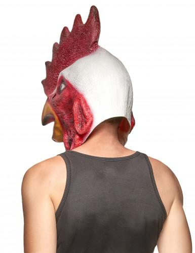 Máscara látex gallo adulto-1