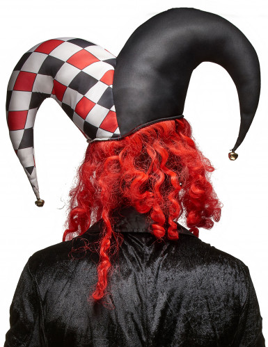 Máscara látex joker terrorífico adulto Halloween-1