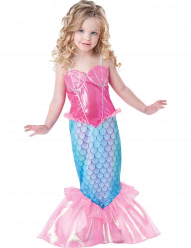 Disfraz sirena para niña - Premium