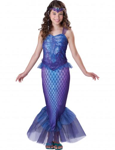 Disfraz de sirena para niña - Premium