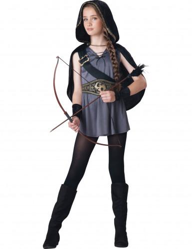 Disfraz cazadora para niña - Premium