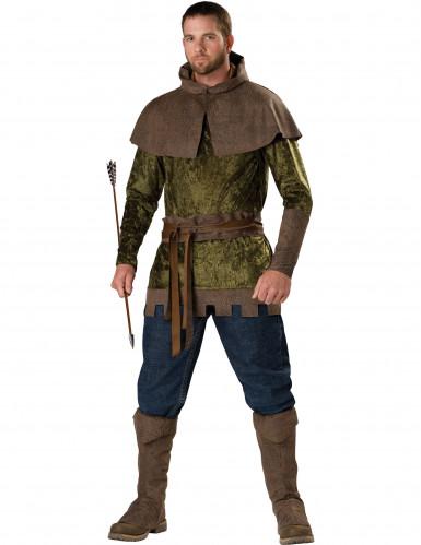 Disfraz Robin del bosque para hombre Premium