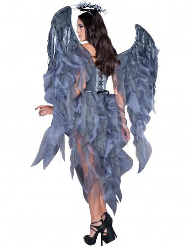Disfraz ángel demonio mujer Premium-1