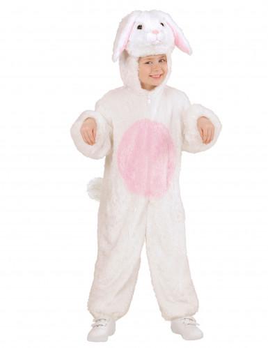 Disfraz de conejito blanco para adulto -