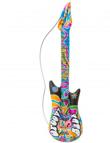 Guitarra hinchable hippie 105 cm