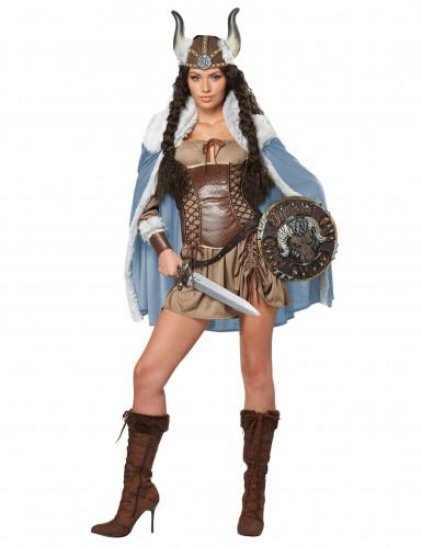 Disfraz mujer vikingo adulto